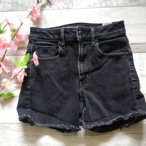 American Eagle Super Hi - Rise Denim  Shortie